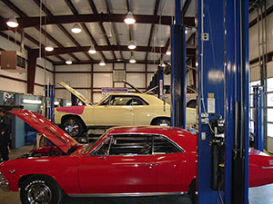 Our Service Bays at Cavalier Automotive